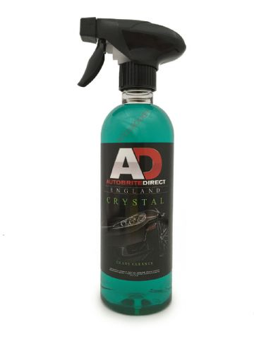 Autobrite Direct - Crystal Glass Cleaner, Smear Free & Trade Strength - 500ml
